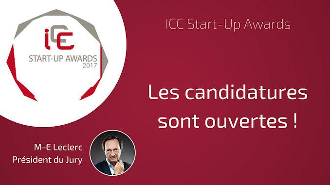 ICC Start-Up Awards @clesdudigital