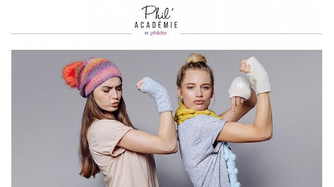 La marque de fil à tricoter Phildar entame sa révolution digitale @clesdudigital