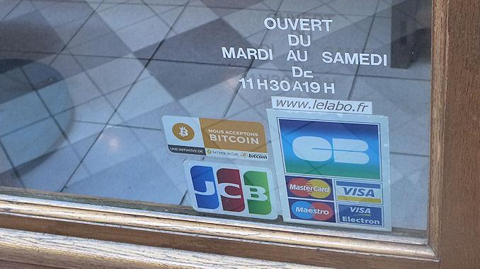 Le bitcoin et l'ether sont peu acceptés par les commerçants @clesdudigital