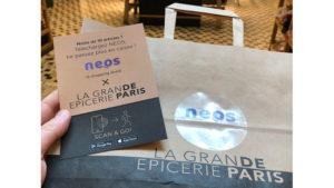 Neos étend son service au magasin de la Rive droite @clesdudigital