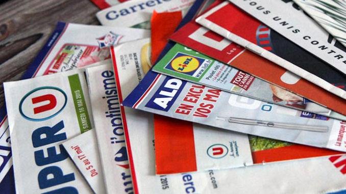 remplacer la distribution des prospectus papier @clesdudigital