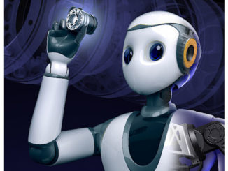robot interactif XR-1 @clesdudigital