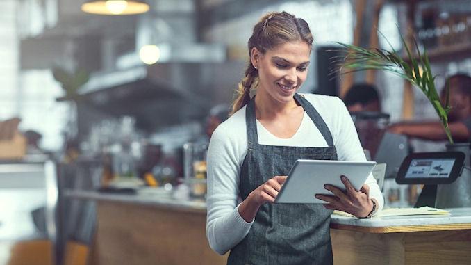 équipement en tablettes pour les vendeurs en magasin @clesdudigital