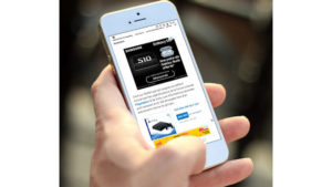 smartphone pour préparer leur shopping @clesdudigital