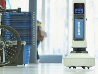 robots d'inventaire en magasin @clesdudigital