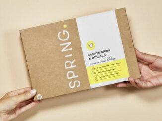 produits détergents en boites aux lettres @clesdudigital